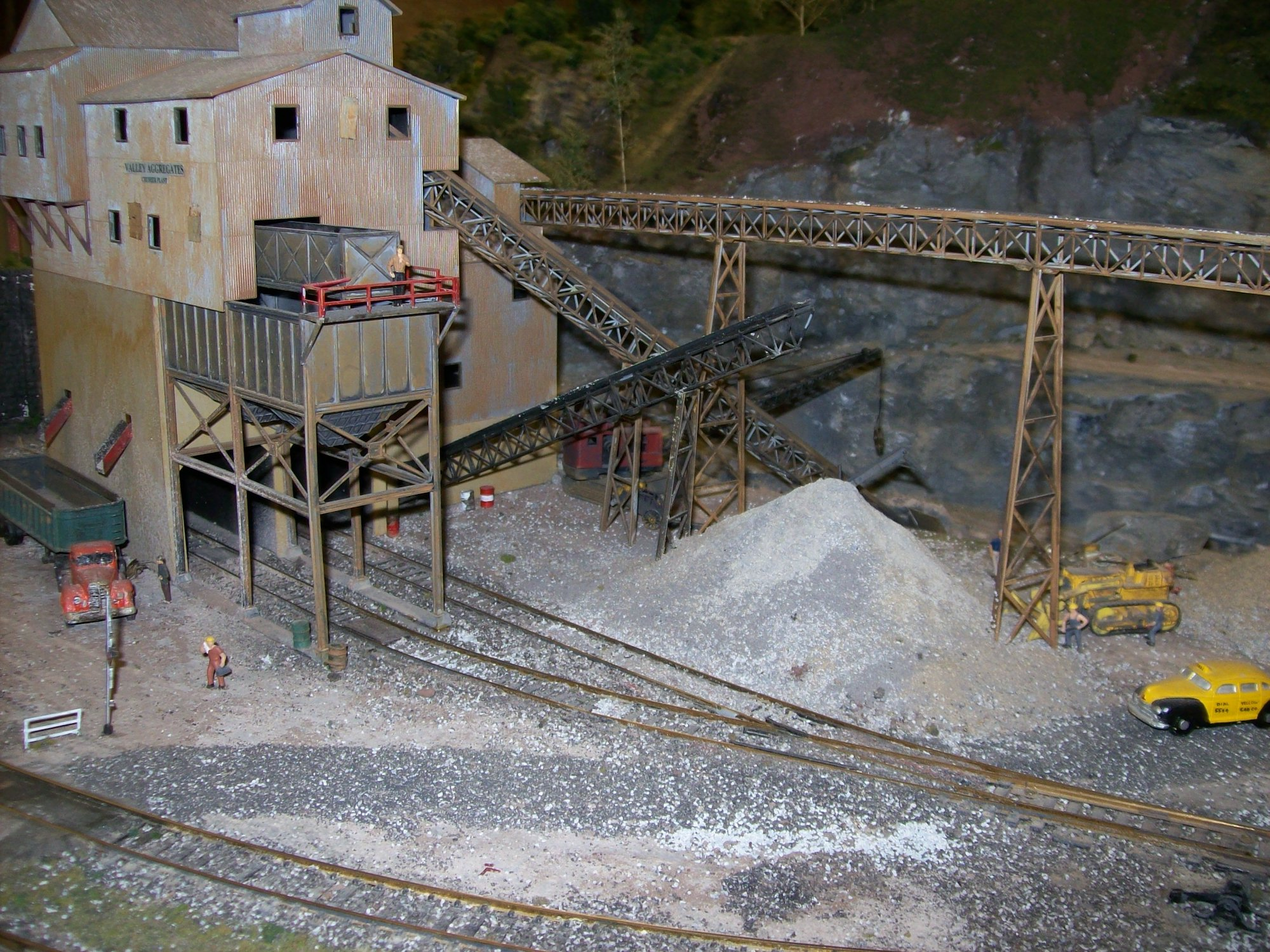 Crusher and Quarry
