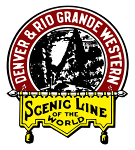 Logo of the Denver and Rio Grande Western Railroad.png