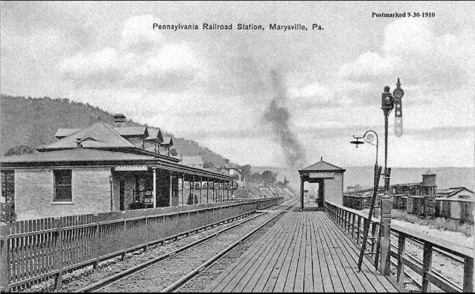 Marysville Station 1910