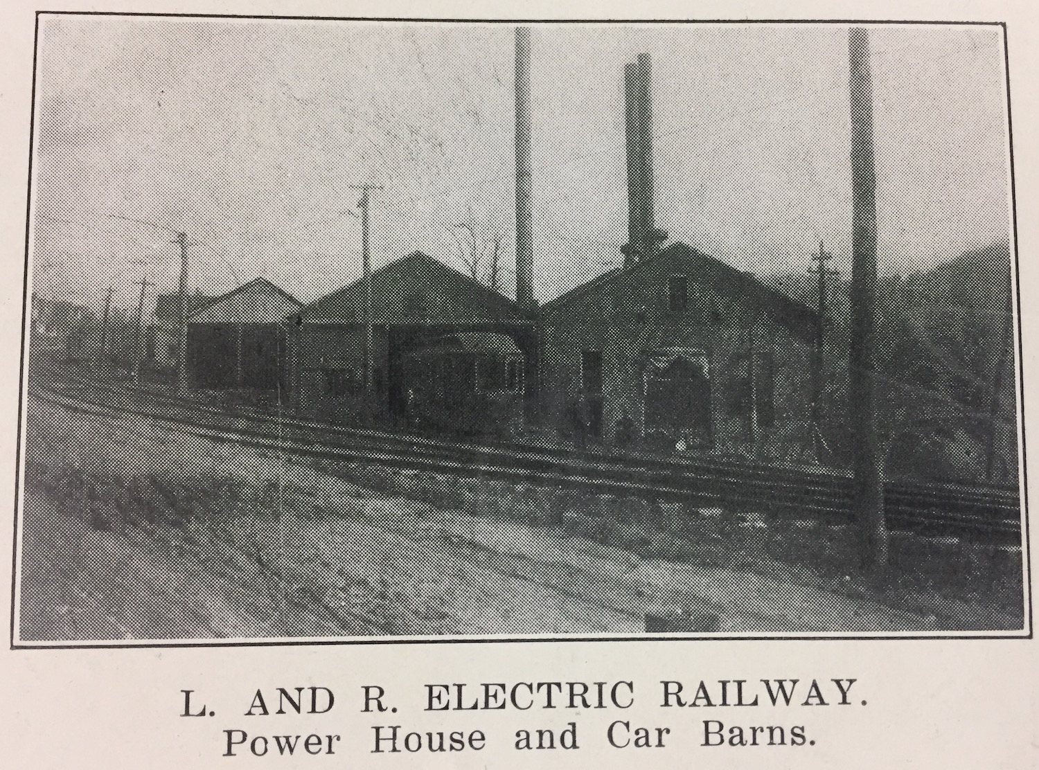 lewistown electric railway car barn