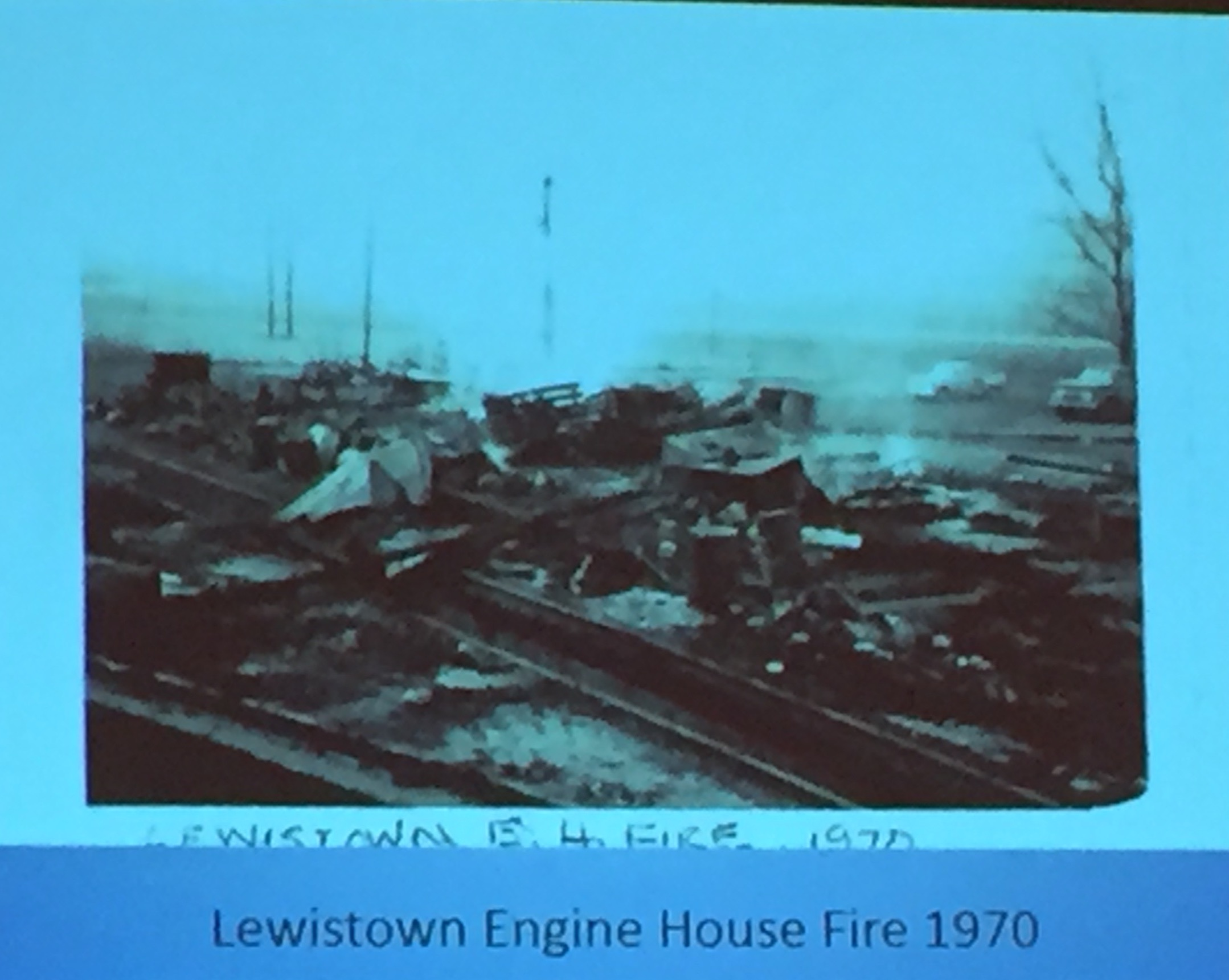 1970 engine house fire