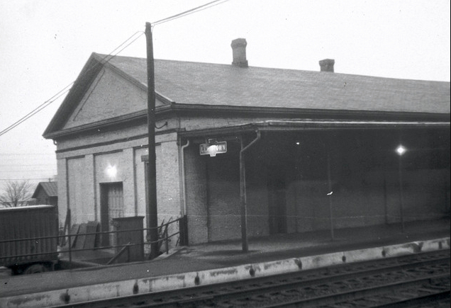 lewistown station 1961