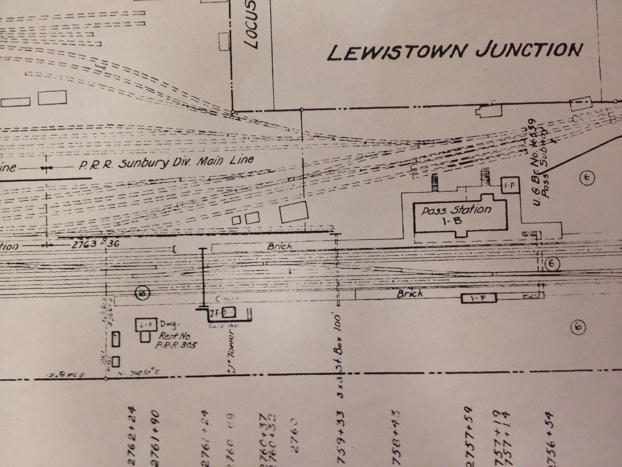 old Lewistown trackage