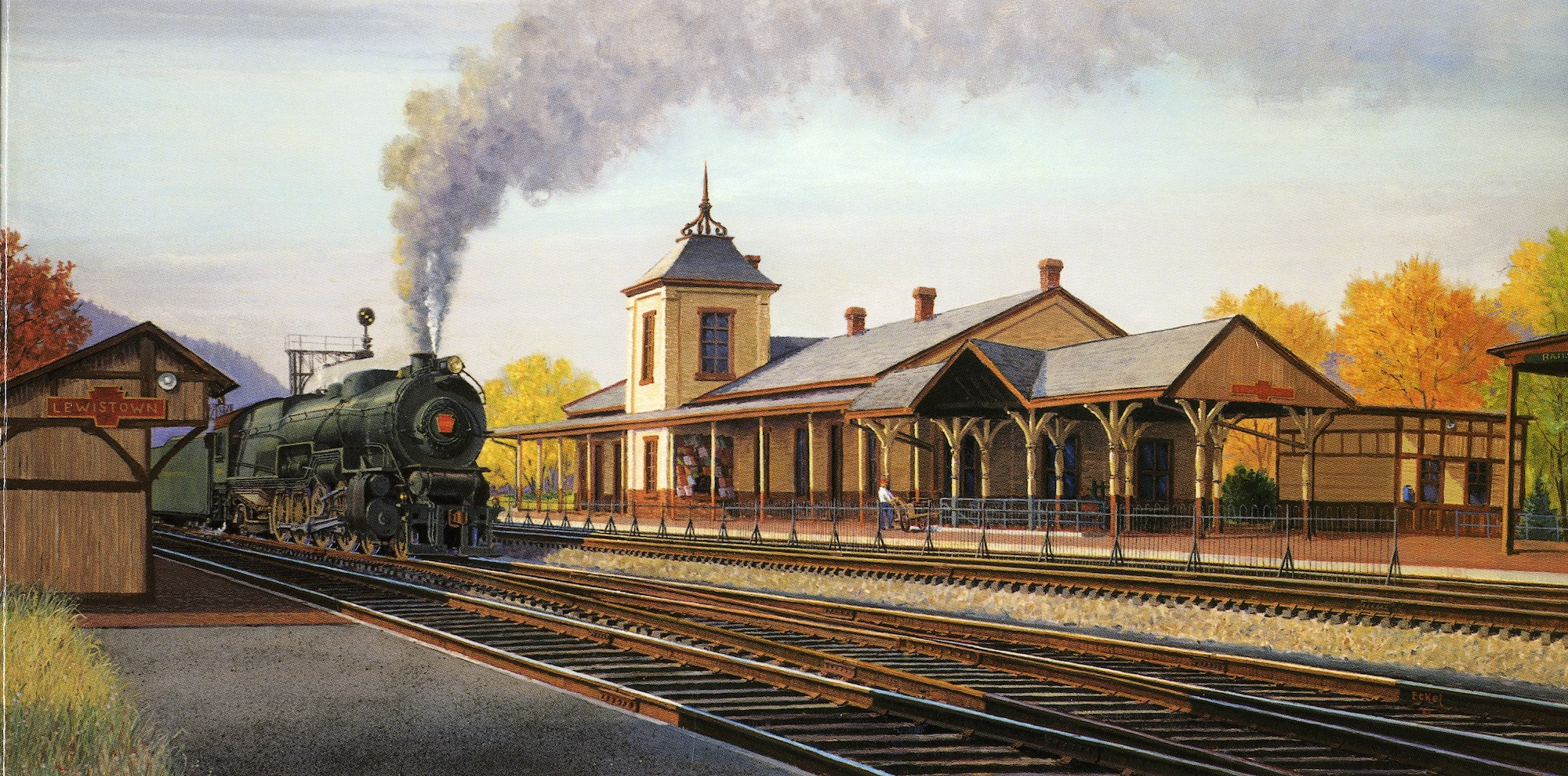 water color of station
