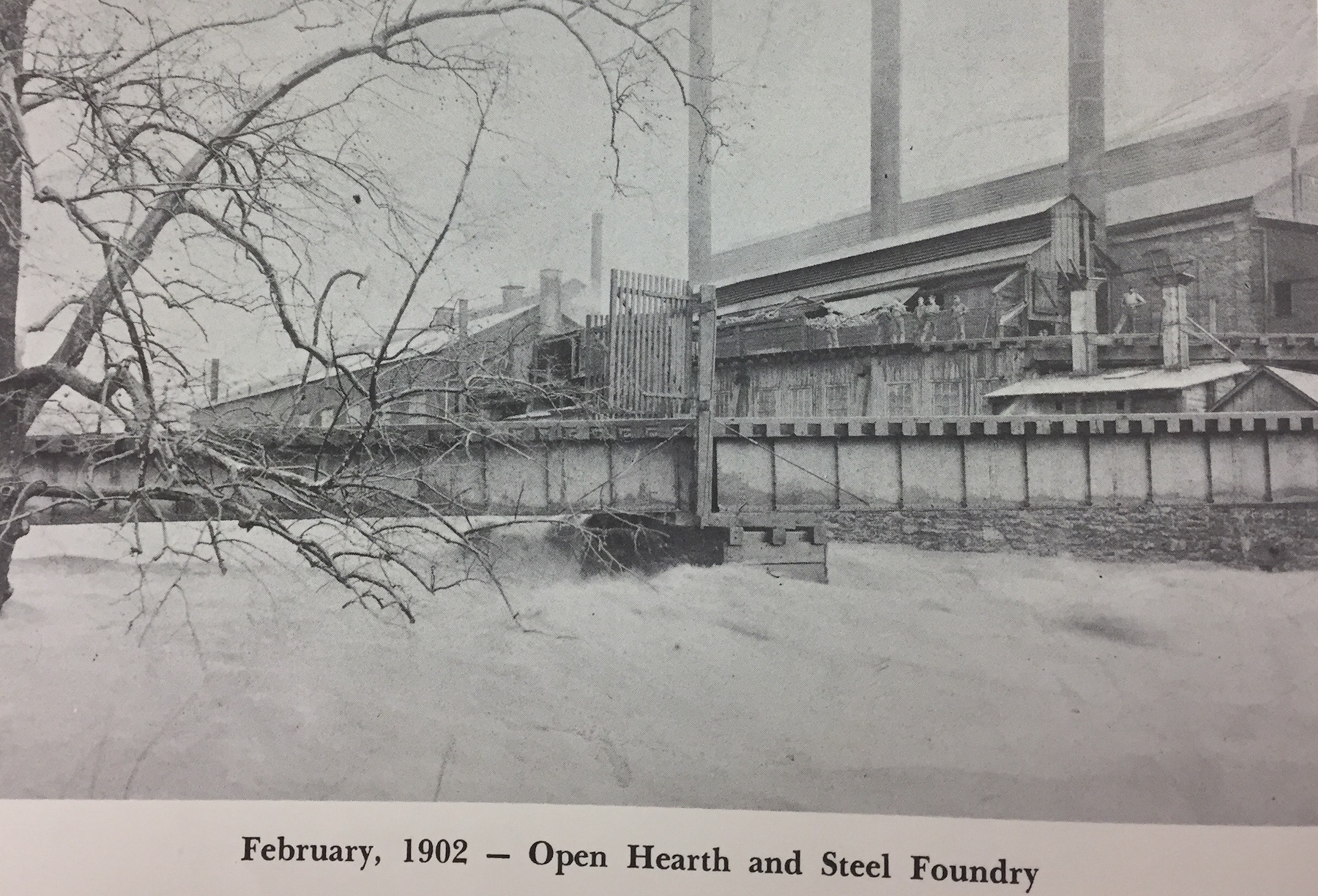 1902 open hearth steel foundry