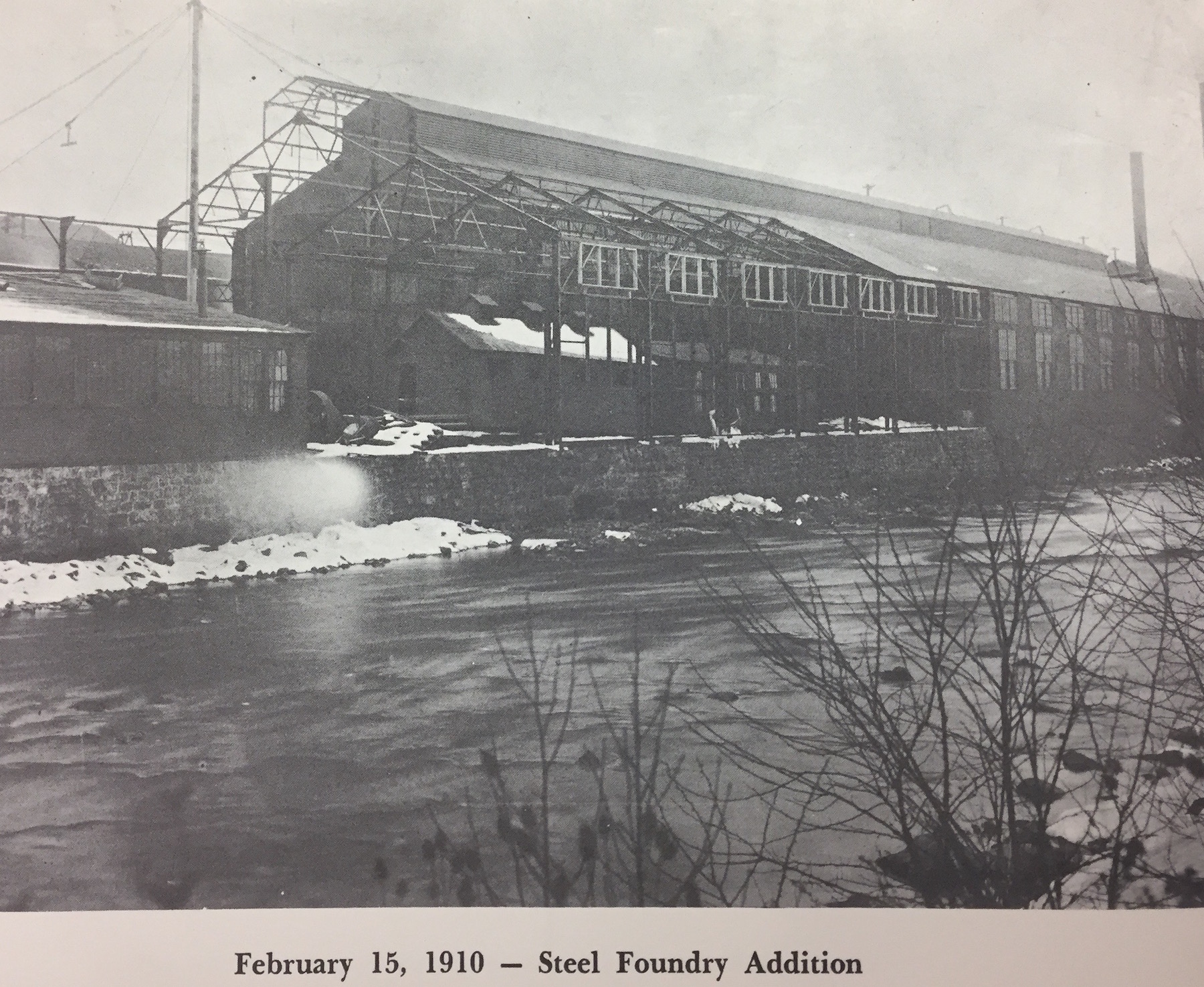 1910 steel foundry addition