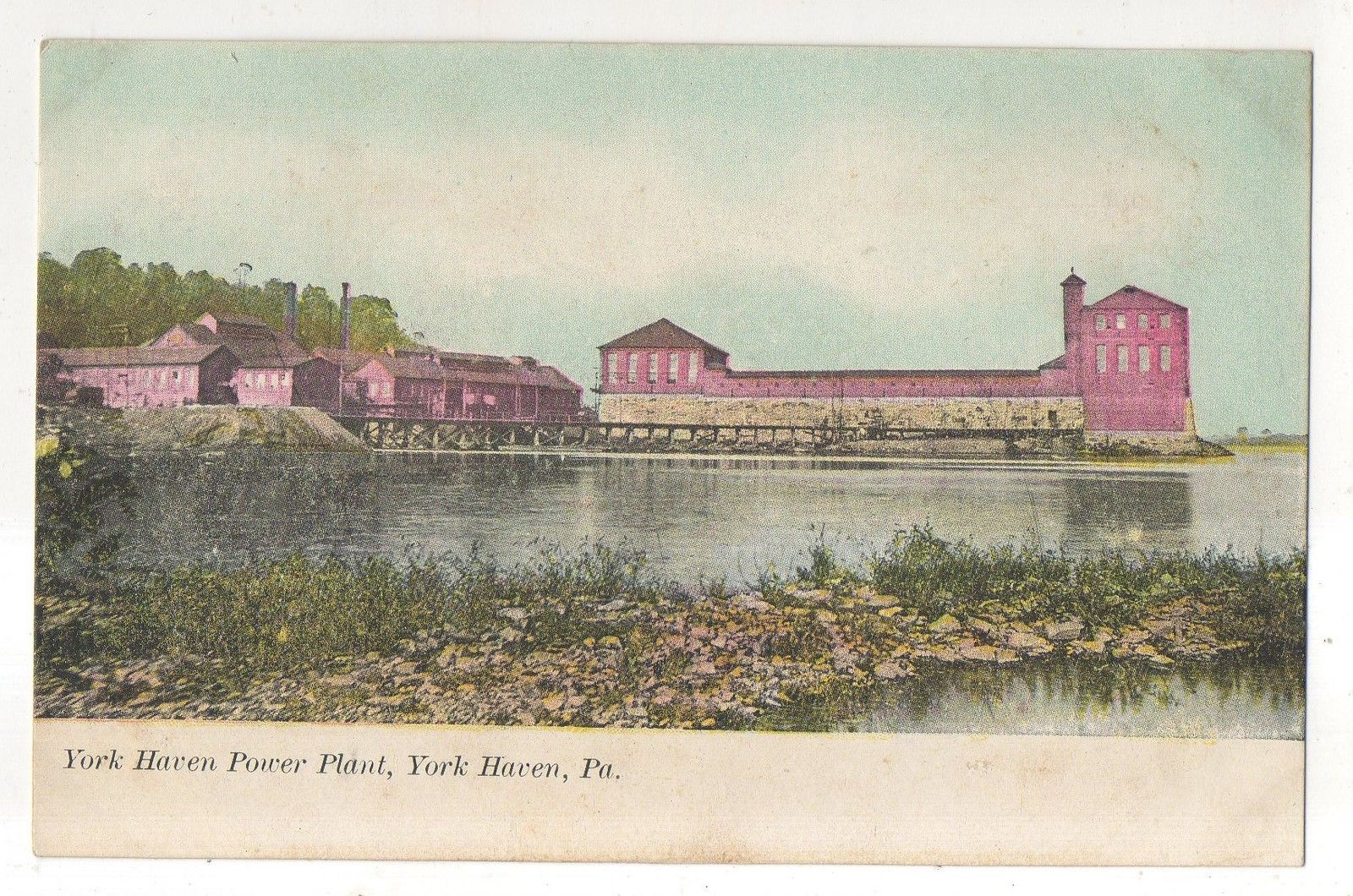 York Haven post card