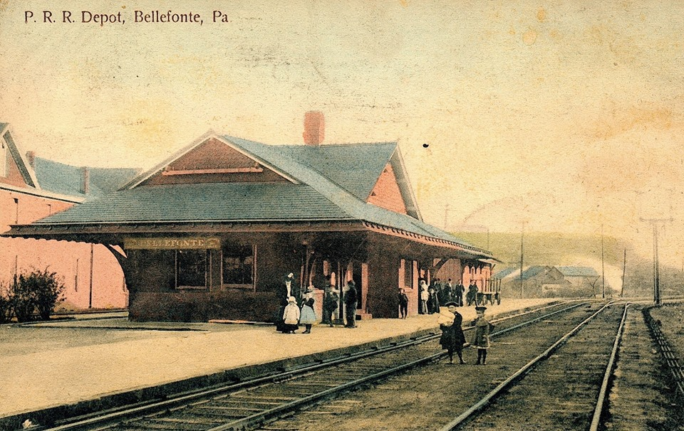 bellefonte sttion 1909