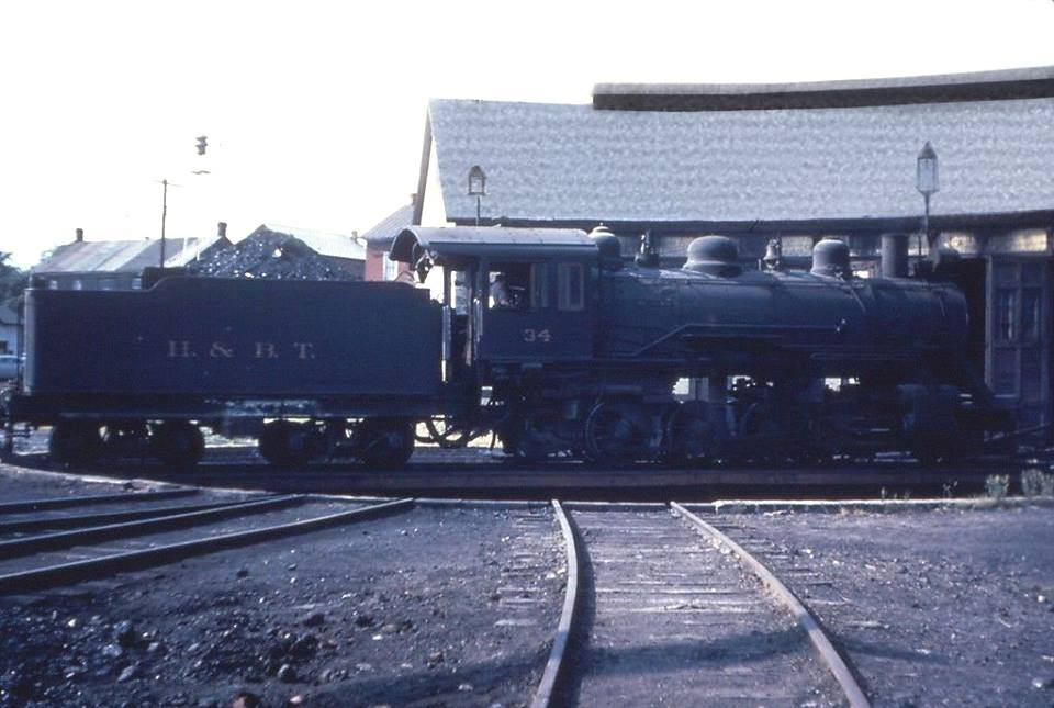 H BT Huntingdon Broad Top Railraod Locomotive Coal Car in Saxton Bedford County in 1953jpg