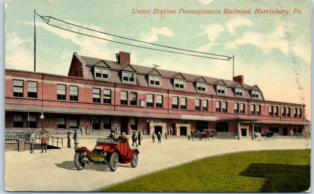 pc Harrisburg Station early