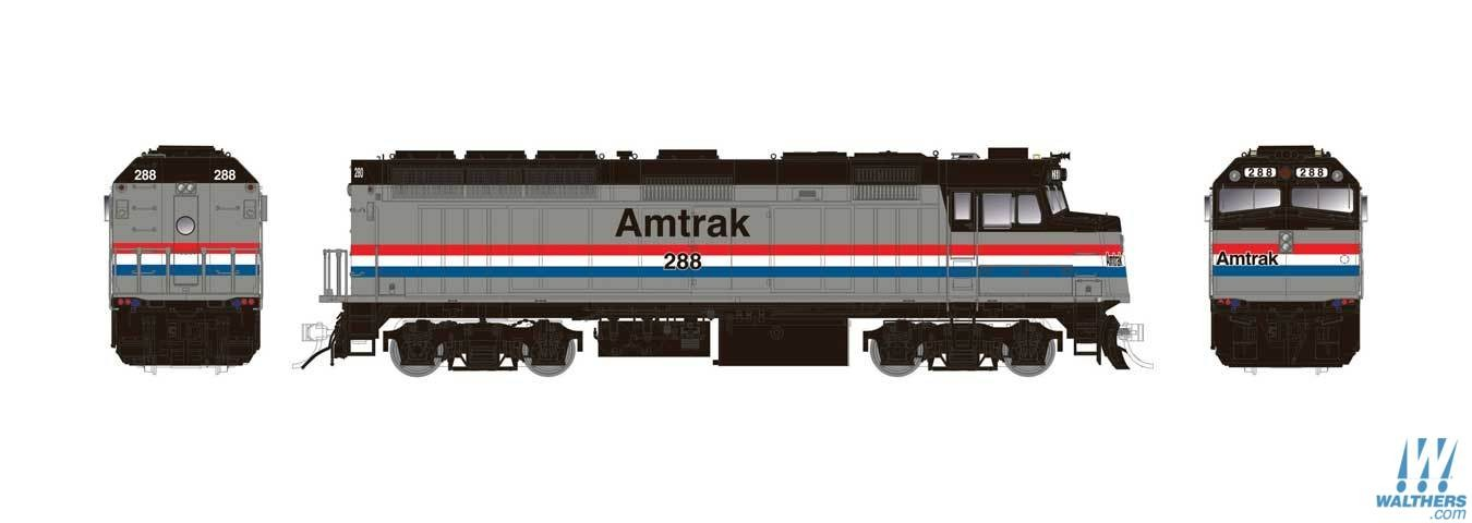 emd f40ph phase 2 standard dc 606 83105 big