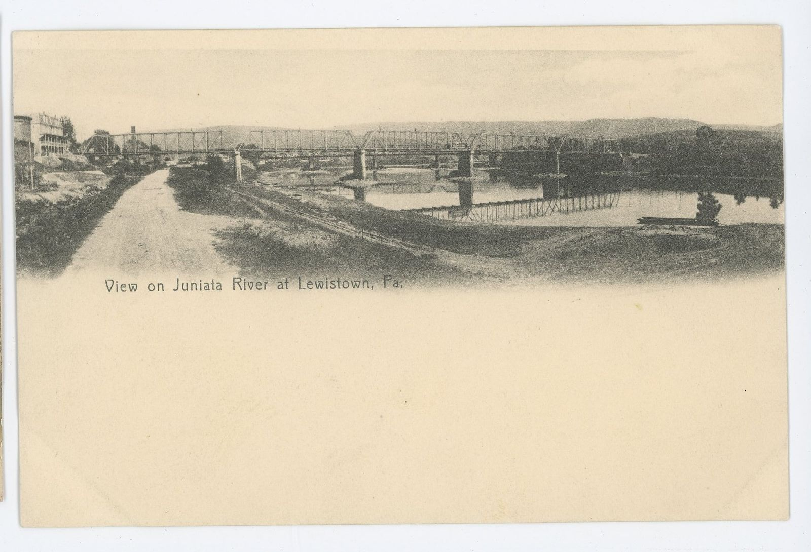 Early Lewistown Bridge