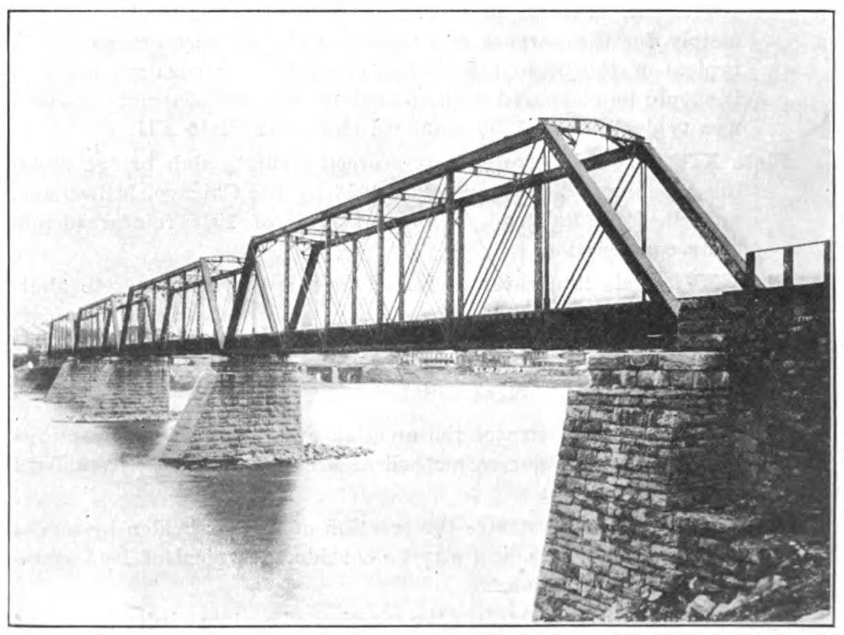 Juniata River Bridge PRe 1923
