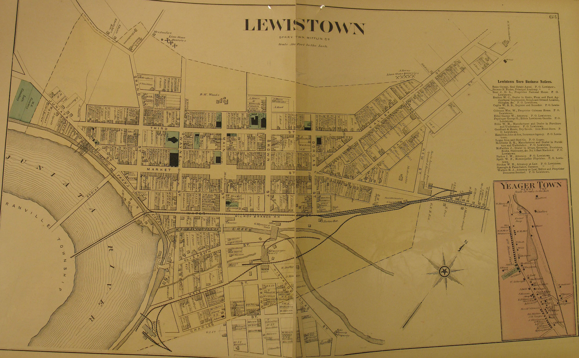 Lewistown map