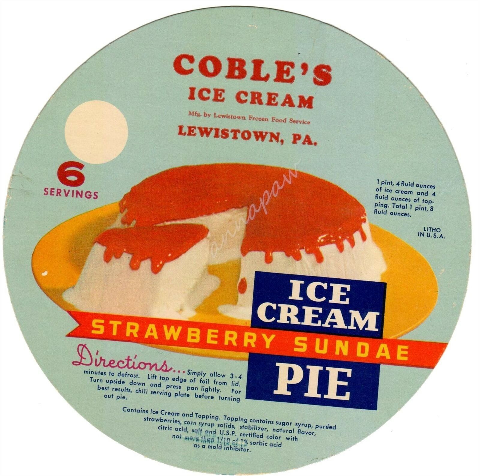 cobles ice cream