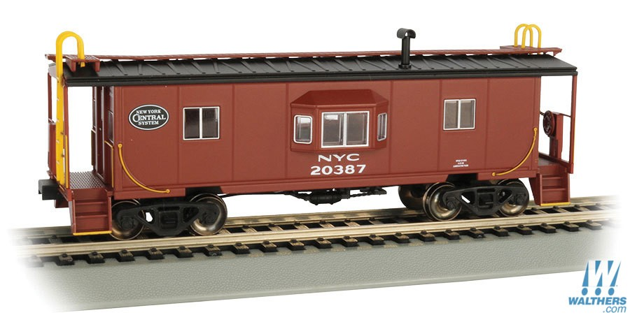 steel bay window caboose ready to run 160 73201 big